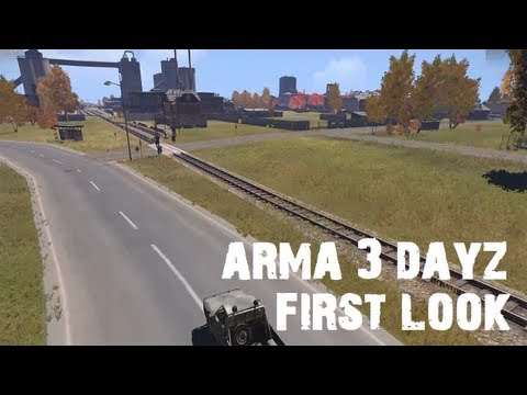 Arma 3 Dayz Zoombies mod with FT - A first look at the new Dayz port