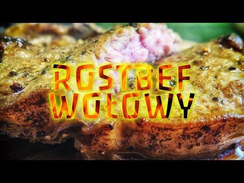 Soczysty Rostbef (stek) Wołowy | PRZEPIS - Antrykot, Beef, Wołowina