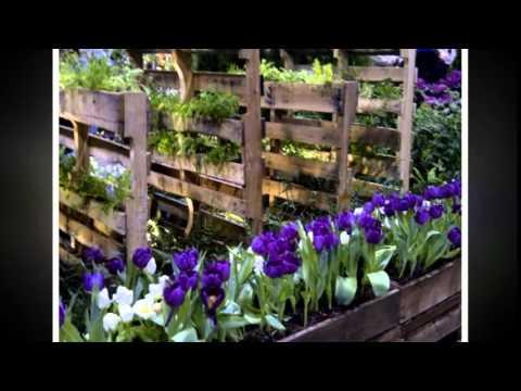 Paletten Garten Vertical Gardening