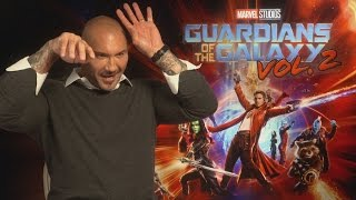 GOTG2: Dave Bautista did not find Guardians of the Galaxy script funny