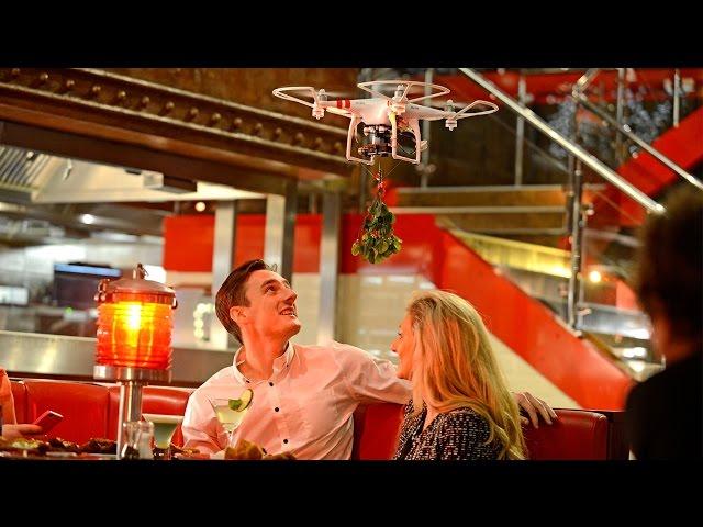 The UK's First Mistletoe Drones - #Togethermas