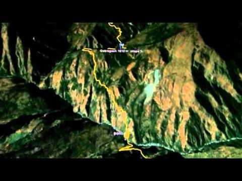 la nouvelle course de Dawa Dachhiri Sherpa au Népal, en avril 2012