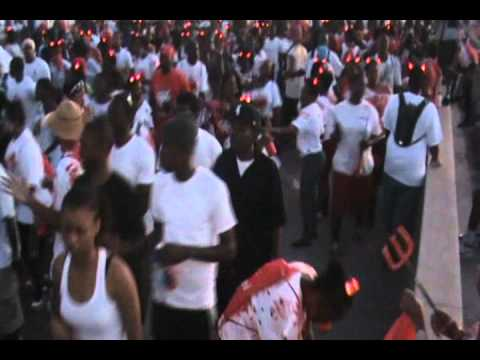 Red Devils @ St Kitts and Nevis Carnival jouvey