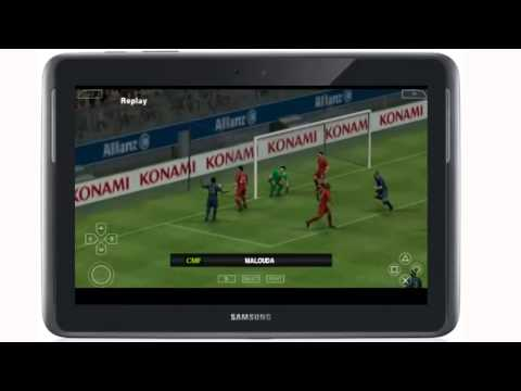 PPSSpp 0.9.6 pro evolution soccer 2013(psp emulator on android)