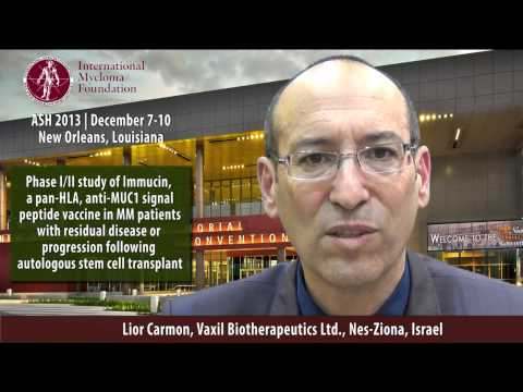 Ash 2013: Abstract 1943 - Dr.lior Carmon video