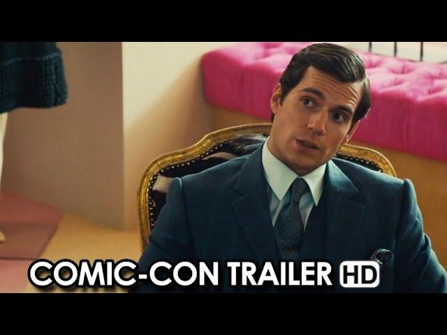 The Man from U.N.C.L.E. starring Henry Cavill - Comic-Con Trailer (2015) HD