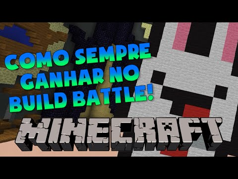 COMO SEMPRE GANHAR NO BUILD BATTLE do MINECRAFT!
