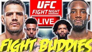 🔴 UFC SAN ANTONIO DOS ANJOS VS EDWARDS + OLEINIK VS HARRIS LIVE FIGHT REACTION!