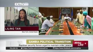 AU urges Gambia's incumbent Jammeh to respect election results