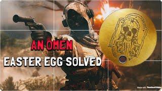 """UNLOCK the Masterman Dogtag """"AN OMEN""""  Battlefield 1 Easter Egg SOLVED!"""