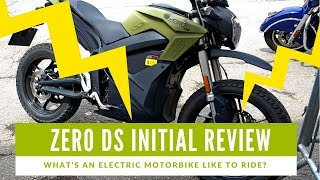 2018 Zero DS Motorcycle Review - What's an electric motorbike like to ride?