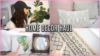 NEW Home Decor HAUL 2018 | HOMEGOODS, TJMAXX, MARSHALLS, TARGET