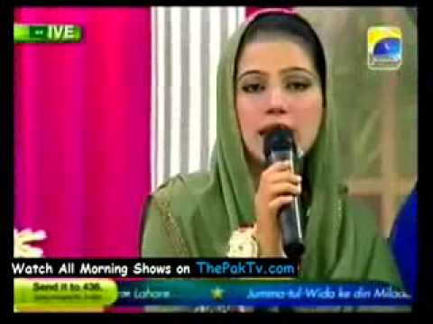 DALO NABI PAR DAROODON K HAAR BY MAHRUKH RIAZ ON GEO 2012   YouTube 2