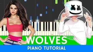 Download Lagu Selena Gomez, Marshmello - Wolves - PIANO (BEST VERSION) Gratis STAFABAND
