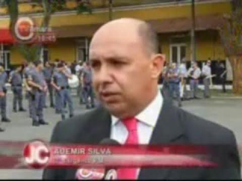 TV Câmara - Matéria sobre a entrega da Salva de Prata para a ROTA