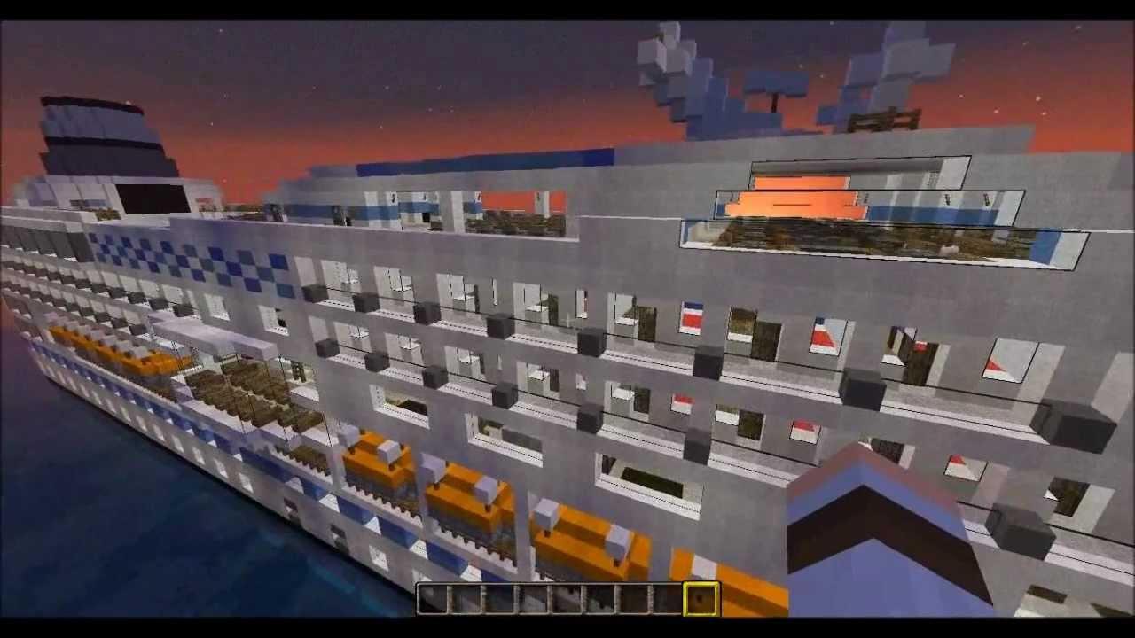 Minecraft Navire de