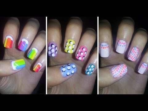 Easy Nail Art For Beginners!!! #4
