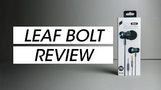 Leaf Bolt Earphones Review - Are they any good?
