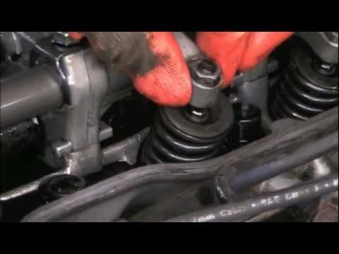 Isuzu  Valve adjustment and Head Re-Torque