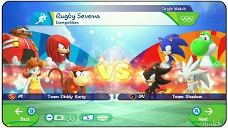 Mario & Sonic at the Rio 2016 Olympic Games - Rugby