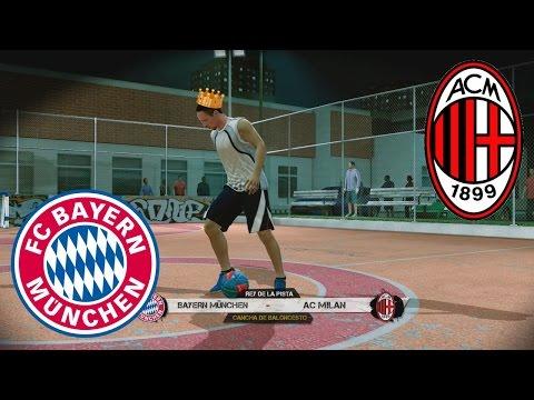 Fifa Street - Bayern Munich Vs A.C Milan El Rey de la Pista. Pura magia Robinho y Robben