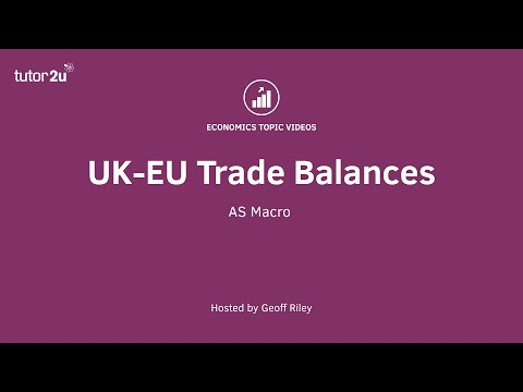 UK-EU Trade Balances