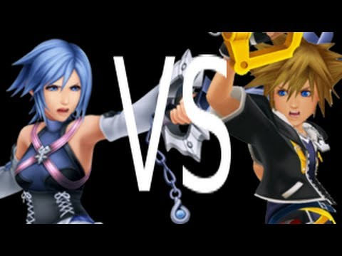 Dissidia 012 - Aqua and Terra vs Sora and Roxas