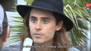 30 Seconds to Mars Video - 30 Seconds to Mars - Virgin Radio interview @ Musilac