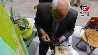 «عم أحمد» القهوجي الذي رسم للثورة