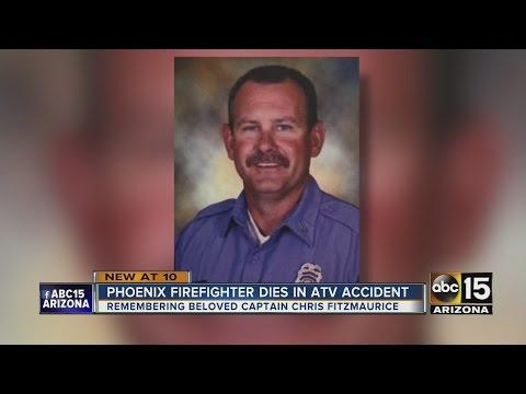 Beloved Phoenix fire captain dies in ATV accident