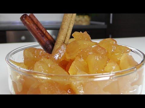 Десертное яблочное варенье видео рецепт