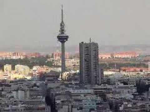 Vistas desde la torre de madrid youtube - Montadores de pladur en madrid ...