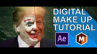 Motion Tracking and Digital Make Up in After Effecs 2019 and Mocha AE CC