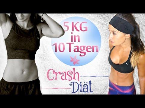 Schnell abnehmen in kurzer Zeit - Crash Diäten - Wirklich so ungesund?