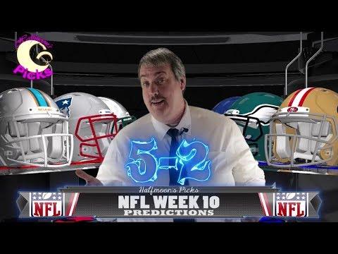 NFL Week 10 ATS Picks for the 2017-2018 Football Season