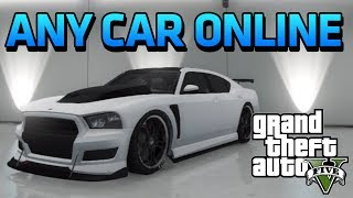 GTA 5 Online - How To Get ANY Car Online! - Transfer STORY MODE Vehicles to ONLINE!