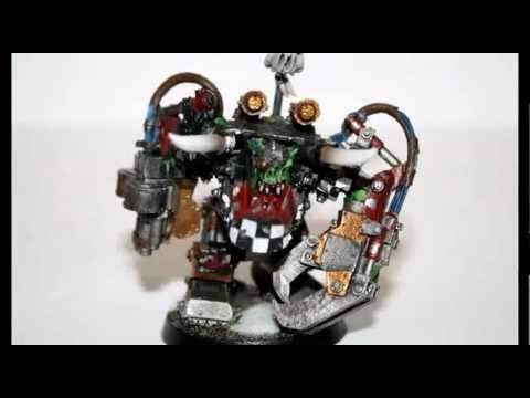 Warhammer 40k Painting Tutorial - How to Paint Ghazghkull Thraka