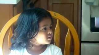 Iksha reciting Guru Brahma