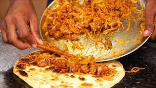 INDIAN STREET FOOD Tour in Kolkata, India  HUGE BENGALI Street Food in India  BEST Vegetarian Food