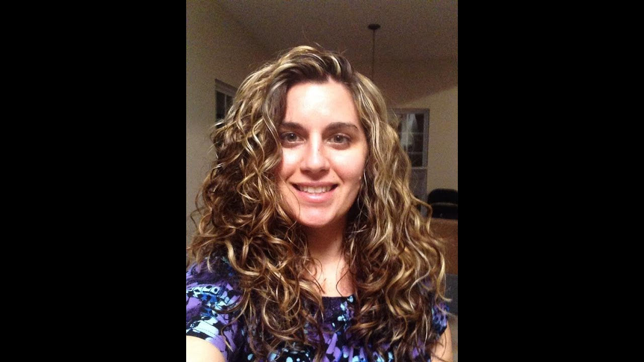 Easy Frizz Free Curly Wavy Styling 2b 2c 3a Hair Part 1