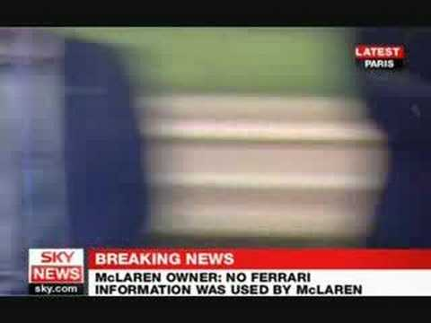 Mclaren thrown out of WDC PART 2 - News Report Clips