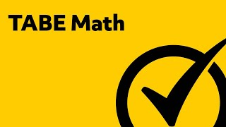 Free TABE Test Math Practice - Study Guide