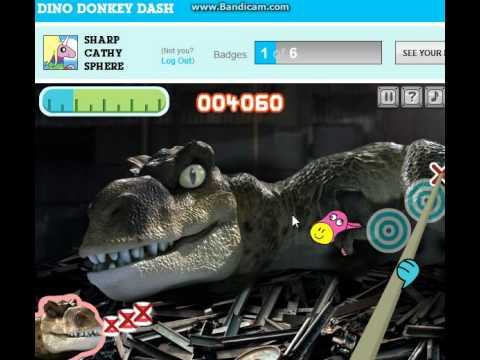 [I Suck] CN -Cartoon Network- ( The Amazing World Of Gumball = Dino Donkey Dash ) Level 1-2