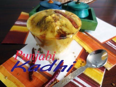 Spicy Punjabi Kadhi Pakora ( With Non-fried Green Pakoras)|poonam's Kitchen video