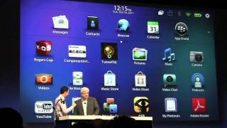 BlackBerry BBX Demo with HTML5 - BlackBerry DevCon 2011