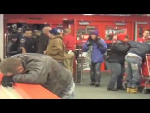 Raw Video Of 'Black Friday' Shoppers Trampled At Target Store