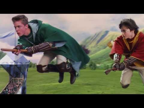 Harry Potter And The Philosopher's Stone: Clip - Harry's First Quidditch Match video