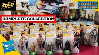 SOLO A STAR WARS STORY COMPLETE ACTION FIGURE SET ALL WAVES SO FAR FROM HASBRO