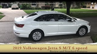 2019 Jetta S Feature Review - Discussing many surprising standard features I found in the M/T model!