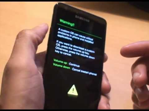 Remove Yellow Triangle WITHOUT USB JIG on Android after Rooting: 2nd Method
